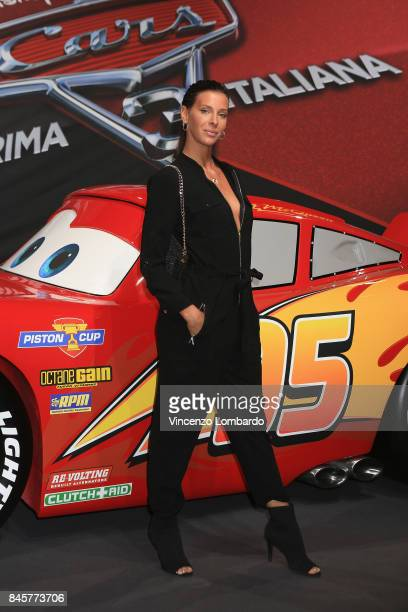 Giulia Calcaterra attends Cars 3 photocall in Milan on September 11 2017 in Milan Italy