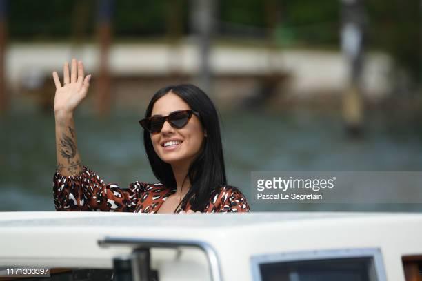 Giulia De Lellis arrives at the 76th Venice Film Festival on August 31 2019 in Venice Italy