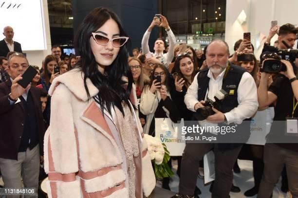 Giulia De Lellis attends MIDO 2019– Milano Eyewear Show on February 24 2019 in Milan Italy