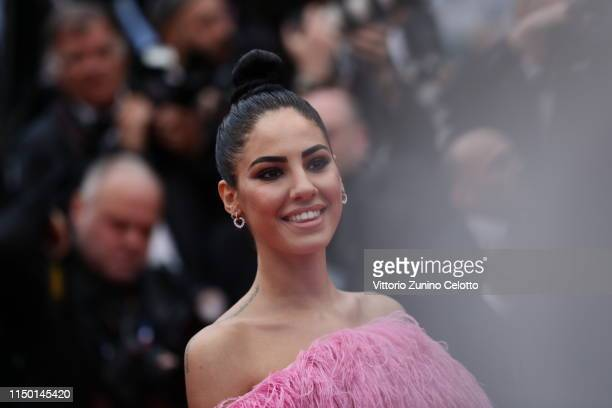 Giulia De Lellis attends the screening of Les Plus Belles Annees D'Une Vie during the 72nd annual Cannes Film Festival on May 18 2019 in Cannes France