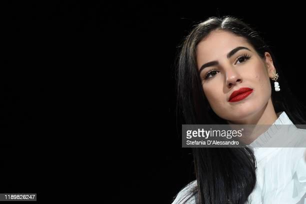 Giulia De Lellis attends the Vanity Fair Stories 2019 at The Space Cinema Odeon on November 24 2019 in Milan Italy