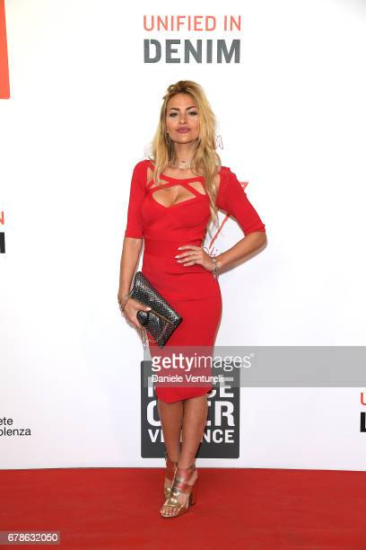 Giulia Gaudino attends the Guess Foundation Denim Day 2017 at Palazzo Barberini on May 4 2017 in Rome Italy