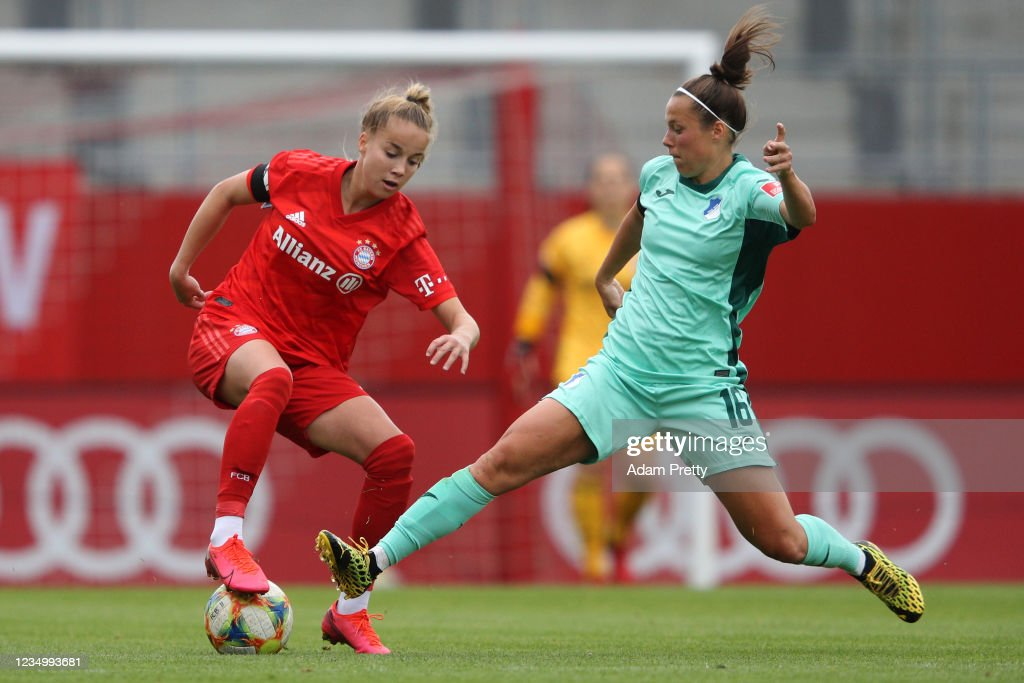 Bayern Muenchen Women's v TSG Hoffenheim Women's - Flyeralarm Frauen-Bundesliga : ニュース写真