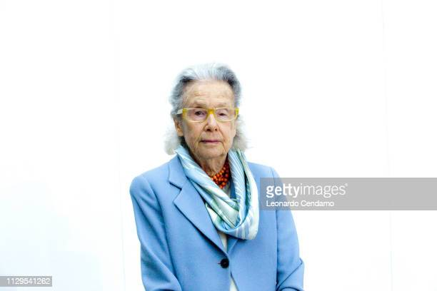 Giulia Maria Crespi Italian writer and President Fai Paris France June 1975