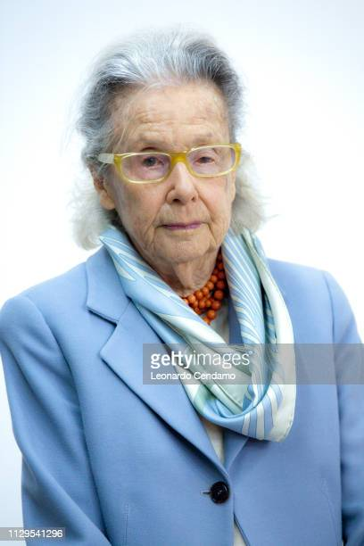 Giulia Maria Crespi Italian writer and President Fai Torino Italy June 1975