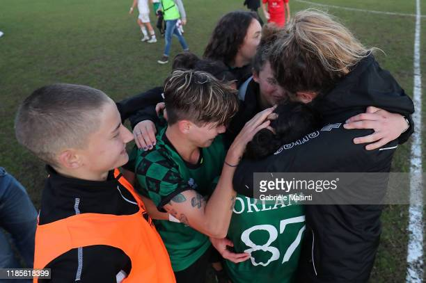 Giulia Orlandi of Florentia San Gimignano Women last game of her career during the Women Serie A match between Florentia and AC Milan on November 30...