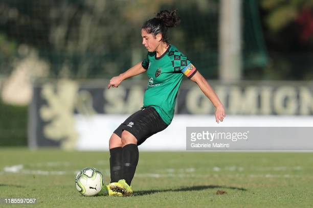Giulia Orlandi of Florentia San Gimignano Women last game of his careers during the Women Serie A match between Florentia and AC Milan on November 30...