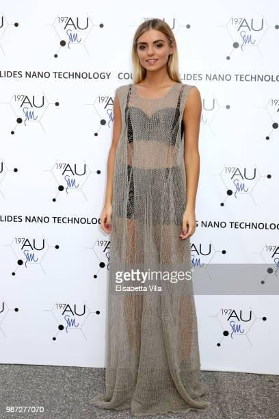 Giulia Palombini attends Sfilata AU197SM AltaRoma on June 29 2018 in Rome Italy