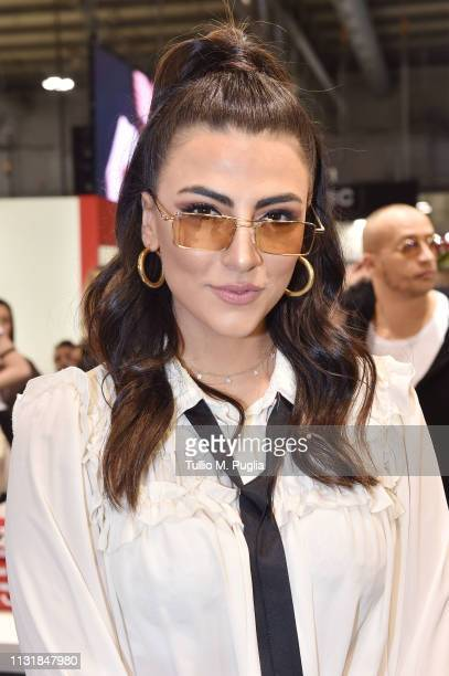 Giulia Salemi attends MIDO 2019– Milano Eyewear Show on February 24 2019 in Milan Italy