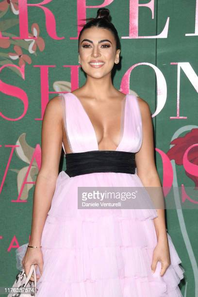 Giulia Salemi attends the Green Carpet Fashion Awards during the Milan Fashion Week Spring/Summer 2020 on September 22 2019 in Milan Italy
