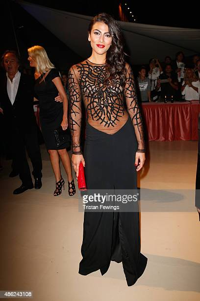 Giulia Salemi attends the opening dinner during the 72nd Venice Film Festival on September 2 2015 in Venice Italy