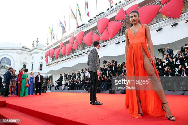 Giulia Salemi attends the premiere of 'The Young Pope' during the 73rd Venice Film Festival at Palazzo del Casino on September 3 2016 in Venice Italy