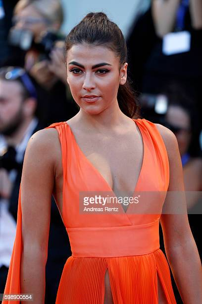 Giulia Salemi attends the premiere of 'The Young Pope' during the 73rd Venice Film Festival at on September 3 2016 in Venice Italy