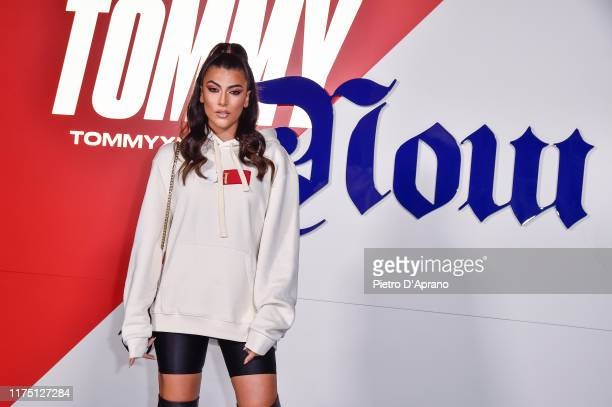 Giulia Salemi attends the Tommy Hilfiger presentation in Milan during the Milan Fashion Week Spring/Summer 2020 on September 16 2019 in Milan Italy