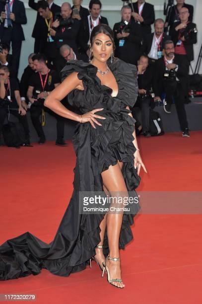"Giulia Salemiwalks the red carpet ahead of the ""Lan Xin Da Ju Yuan"" screening during the 76th Venice Film Festival at Sala Grande on September 04,..."