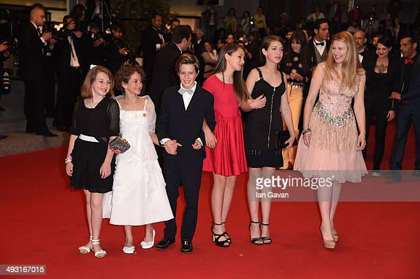 Giulia Salerno and Andrea Pittorino attend the 'Misunderstood' premiere during the 67th Annual Cannes Film Festival on May 22 2014 in Cannes France