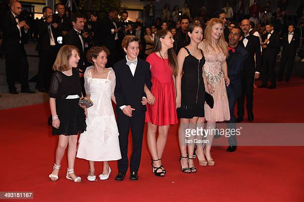Giulia Salerno and Andrea Pittorino attend the Misunderstood premiere during the 67th Annual Cannes Film Festival on May 22 2014 in Cannes France