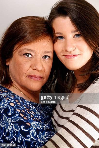Giulia Salvatori and Actress Lola Vogel Photographed in PARIS
