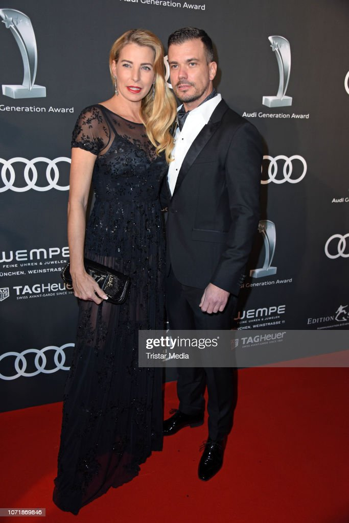 Giulia Siegel And Her Boyfriend Ludwig Heer Arrive At Audi