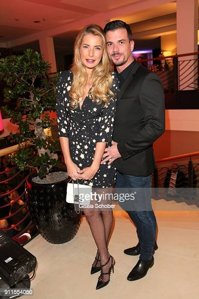 Giulia Siegel and her boyfriend Ludwig Heer during the ...