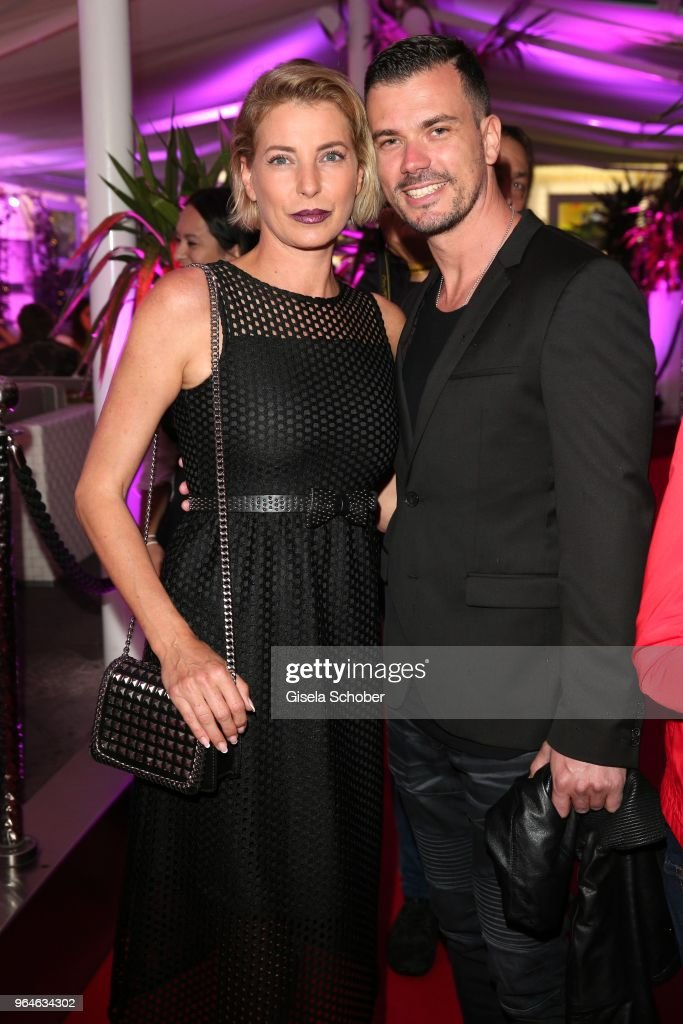 Giulia Siegel And Her Boyfriend Ludwig Heer During The Surprise