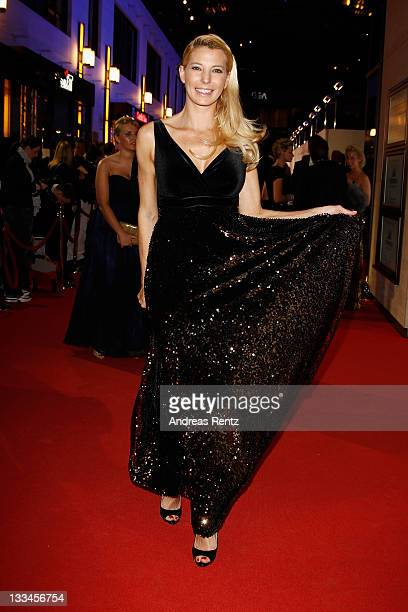 Giulia Siegel attends the 20th UNESCO charity gala at Maritim Hotel on November 19, 2011 in Duesseldorf, Germany.