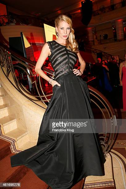 Giulia Siegel attends the German Film Ball 2015 on January 17 2015 in Munich Germany