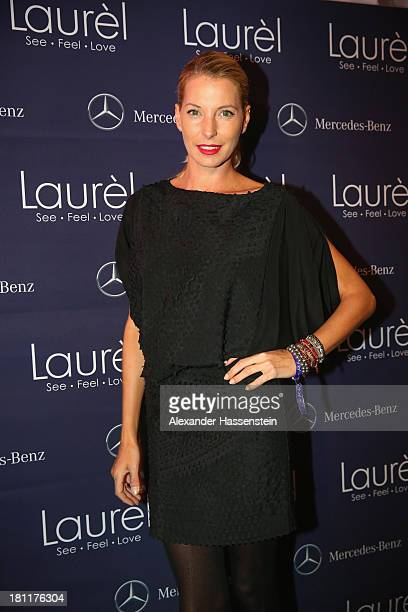 Giulia Siegel attends the Laurel flagship store opening on September 19 2013 in Munich Germany