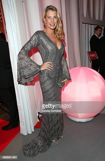 Giulia Siegel attends the Mon Cheri Barbara Tag 2015 at Postpalast on December 4 2015 in Munich Germany