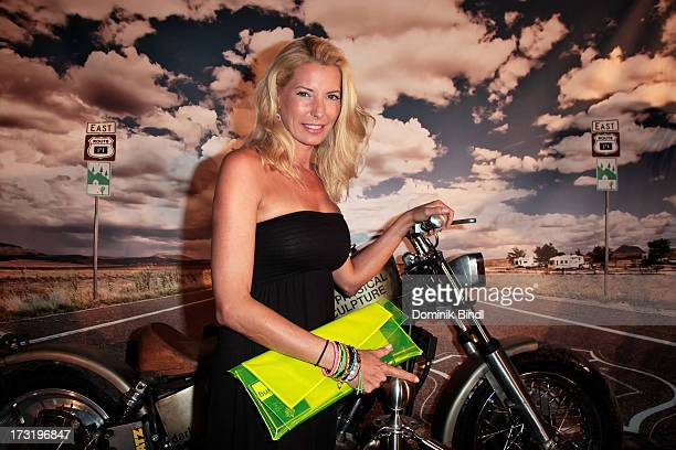 Giulia Siegel attends the summer party at P1 on July 9 2013 in Munich Germany