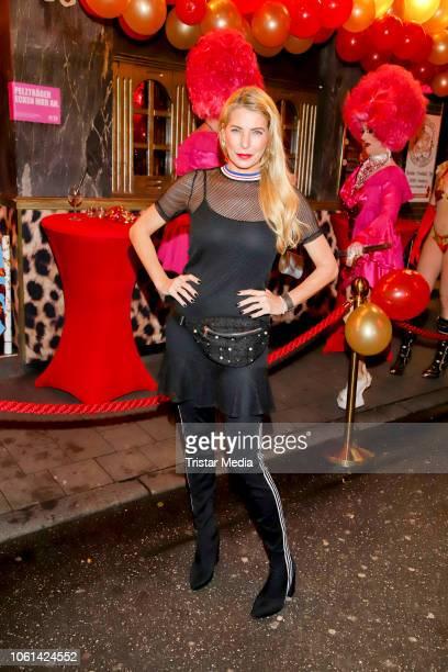 Giulia Siegel during the 10th Anniversary of Olivia Jones Bar on November 13 2018 in Hamburg Germany