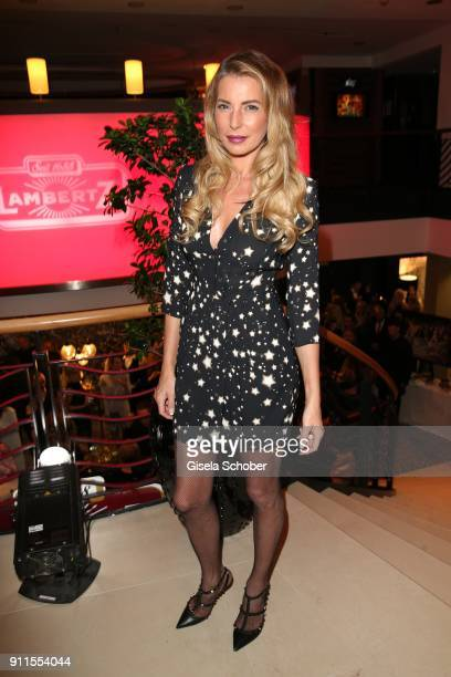 Giulia Siegel during the Lambertz Monday Night pre dinner at Hotel Marriott on January 28 2018 in Cologne Germany