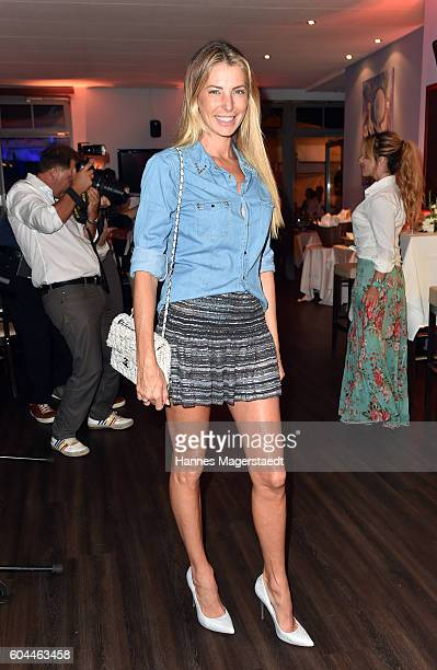 Giulia Siegel during the My Big Fat Greek cocktail on September 13 2016 in Munich Germany