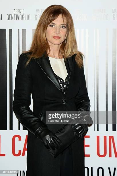 Giuliana De Sio attends the 'Il Capitale Umano' Premiere at The Space Moderno on January 8, 2014 in Rome, Italy.