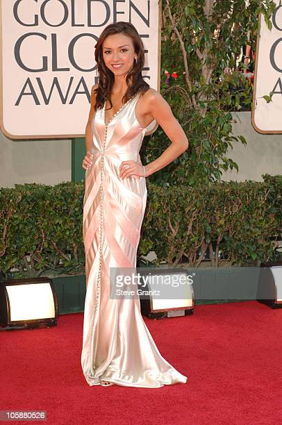 Giuliana DePandi during The 63rd Annual Golden Globe Awards Arrivals at Beverly Hilton Hotel in Beverly Hills California United States