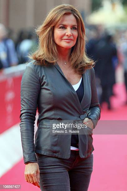 "Giuliana DeSio attends ""Francesco Nuti... E Vengo Da Lontano"" premiere during The 5th International Rome Film Festival at Auditorium Parco Della..."
