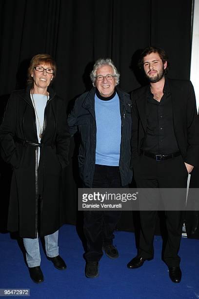 Giuliana Faiella Peppino Di Capri and Dario Faiella attend the second day of the 14th Annual Capri Hollywood International Film Festival on December...
