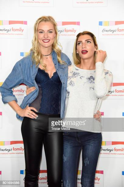 Giuliana Farfalla and Miriam Hoeller attend the Ernsting's Family Fashion Show at Stage Operettenhaus on June 26 2017 in Hamburg Germany