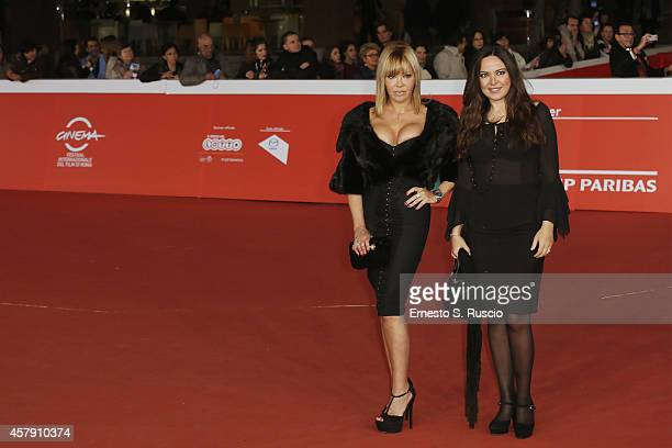 Giuliana Gemma and Vera Gemma attend the Il Postino red carpet during the 9th Rome Film Festival on October 26 2014 in Rome Italy