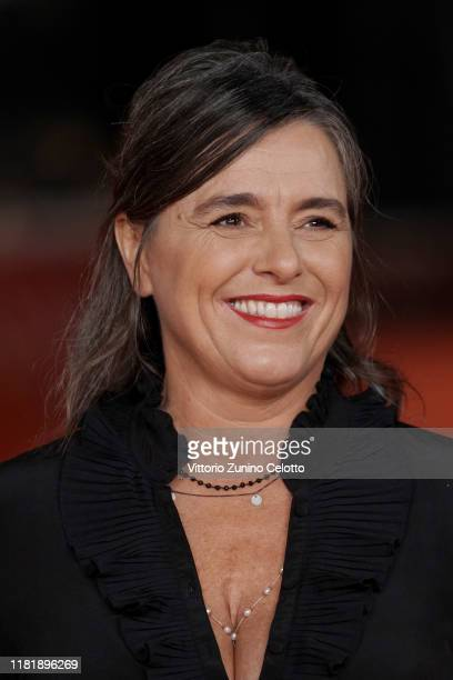 Giuliana Pavarotti attends the Pavarotti red carpet during the 14th Rome Film Festival on October 18 2019 in Rome Italy