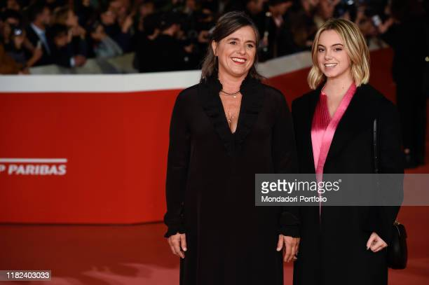 Giuliana Pavarotti, Caterina Lo Sasso at Rome Film Fest 2019. Rome , October 18th, 2019