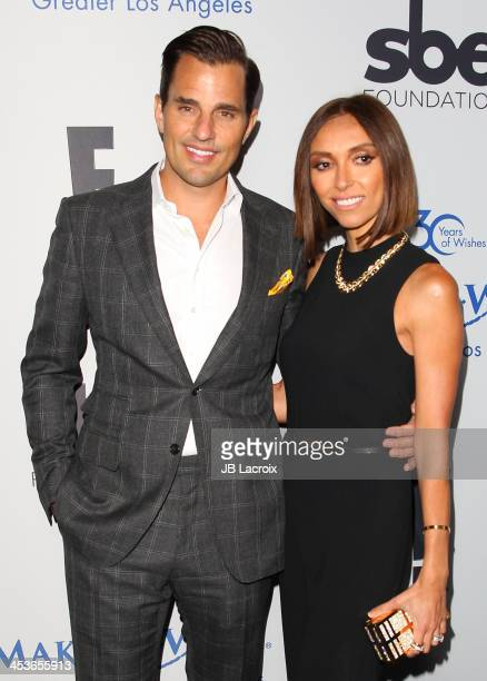 Giuliana Rancic and Bill Rancic attend the MakeAWish Foundation of Greater Los Angeles 2013 Wishing Well Winter Gala at Regent Beverly Wilshire Hotel...