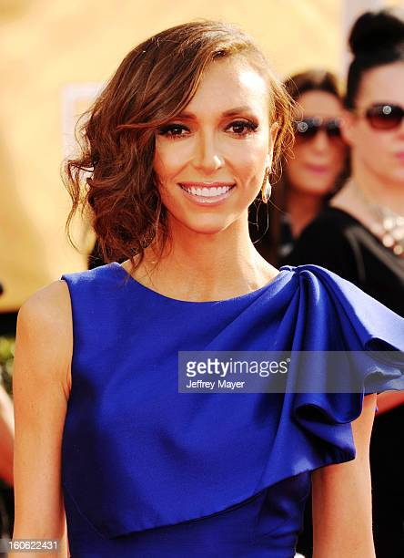 Giuliana Rancic arrives at the 19th Annual Screen Actors Guild Awards at the Shrine Auditorium on January 27 2013 in Los Angeles California