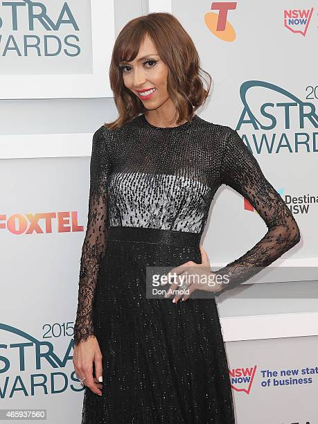 Giuliana Rancic arrives at the 2015 ASTRA Awards at the Star on March 12 2015 in Sydney Australia