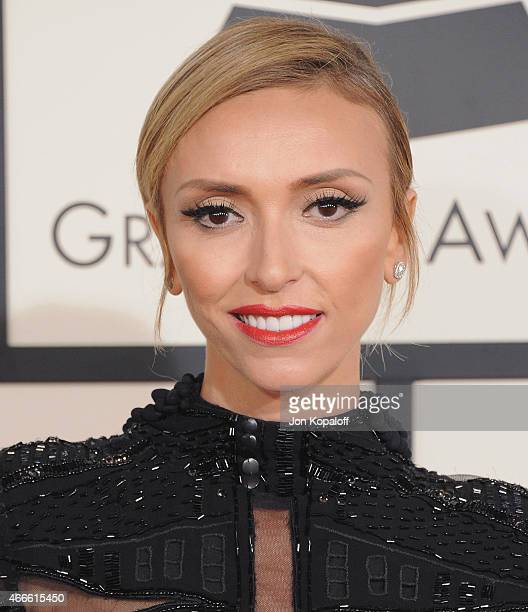 Giuliana Rancic arrives at the 57th GRAMMY Awards at Staples Center on February 8, 2015 in Los Angeles, California.