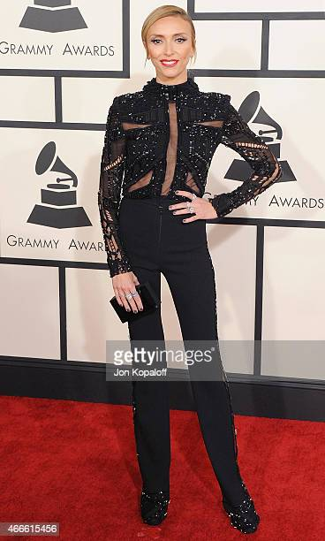 Giuliana Rancic arrives at the 57th GRAMMY Awards at Staples Center on February 8 2015 in Los Angeles California