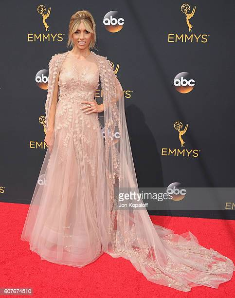 Giuliana Rancic arrives at the 68th Annual Primetime Emmy Awards at Microsoft Theater on September 18 2016 in Los Angeles California