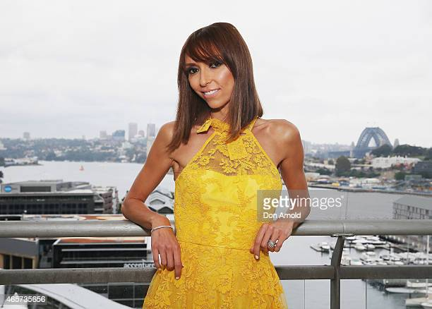 Giuliana Rancic attends a media call ahead of the 2015 ASTRA Awards on March 10, 2015 in Sydney, Australia. The ASTRA Awards is an annual event...