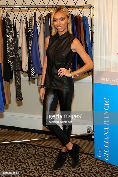 Giuliana Rancic attends HSN Fall Fashion Lounge at Empire Hotel on September 8 2014 in New York City