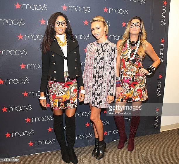 Giuliana Rancic attends Macys Presents Fashions Front Row at Aventura Mall on September 16 2016 in Miami Florida